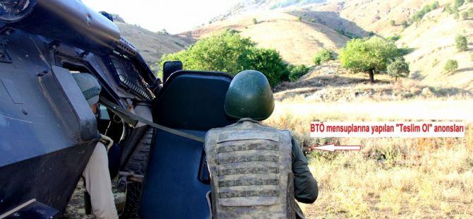Diyarbakır Lice'de Nefes Kesen Operasyon Görüntüleri! 6 PKK'lı Yakalandı