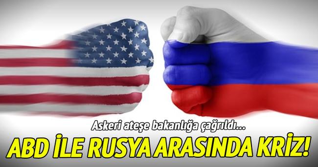 ABD askeri ateşesi Rusya Savunma Bakanlığı'na çağrıldı!