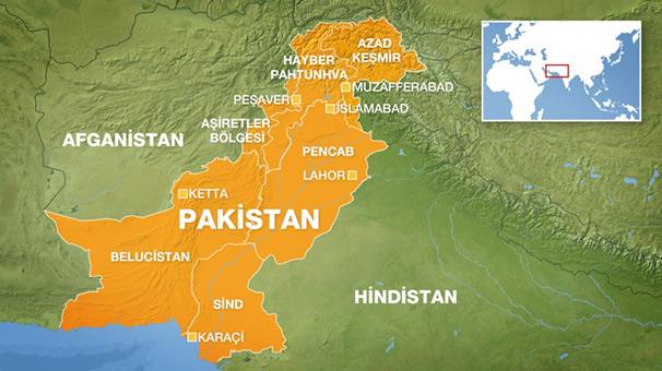 Pahistan'da Saldırı 5 Ölü