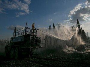Kanada'da 534 Bölgede Yangınları Söndürülemiyor