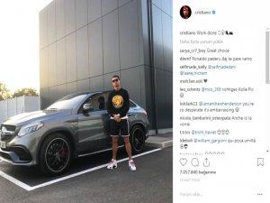 Ronaldo'nun Yeni Aracı Görenleri Büyüledi