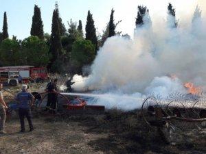 Bursa'da Çocuklar Yangına Davetiye Çıkardı