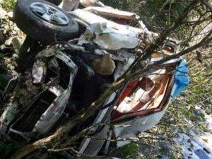 Giresun'da Korkunç Kaza Ölüler Var