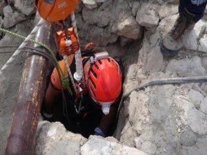 Kuyuda Mahsur Kalan Adamı Afad Kurtardı