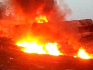Nijerya'da Patlama! Petrol...