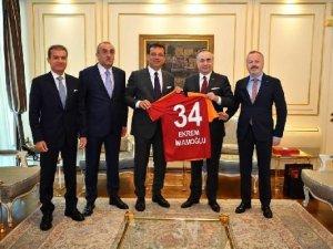 Galatasaray'dan Ekrem İmamoğlu Ziyareti