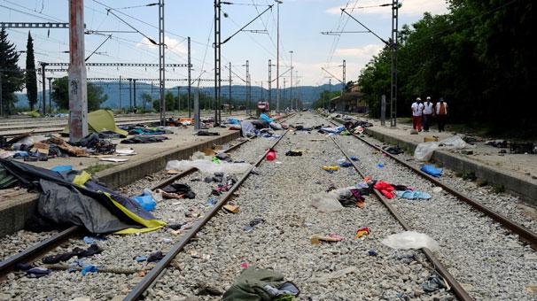 İdomeni'deki kamp resmen kapatıldı