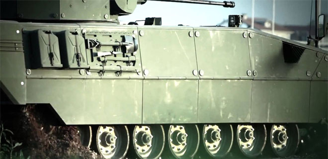 Mehmetçiğin yeni 'yerli zırhlı tankı 'Tulpar'
