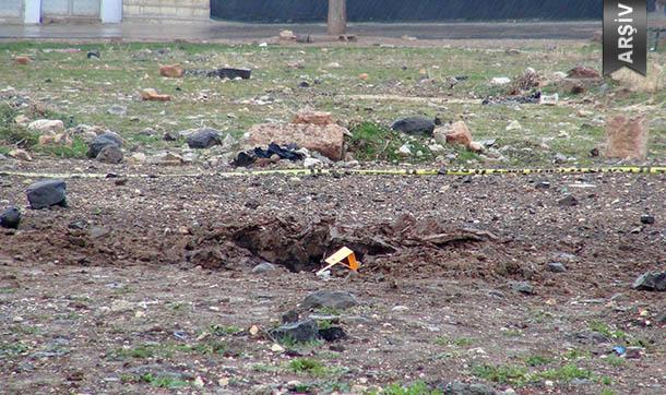 Gaziantep'e Korkutan Patlama! 2 roketatar mermisi isabet etti