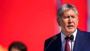 Cumhurbaşkanı Atambayev gözaltına alınırken çatışma çıktı