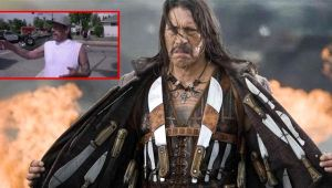 Hollywood aktörü Danny Trejo, ters dönen araçta sıkışan bebeği kurtardı