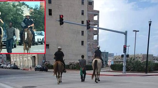 Polisler'den tepki çeken hareket!