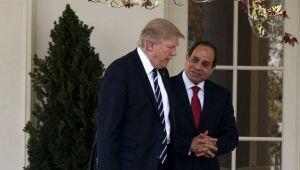 Trump, Sisi'ye 'Benim en favori diktatörüm' dedi