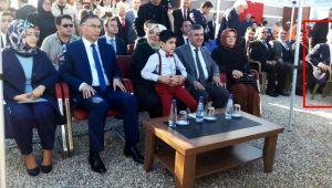 Belediye Başkanı Ayhan protokolde değildi