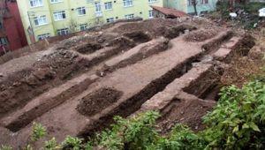 İnşaat kazısı sırasında Bizans dönemine ait yapı bulundu!