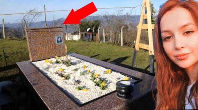Mezar taşına sosyal medya hesabındaki paylaşımı yazıldı