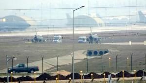 İncirlik Üssü'nde hareketlilik! İHA ve F-16'lar kalkış yaptı