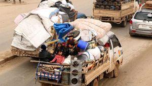 Türkiye sınırına iki günde 40 bin göç