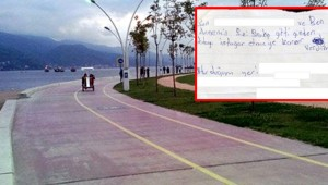İntihar notu bırakan çocuk sahilde bulundu