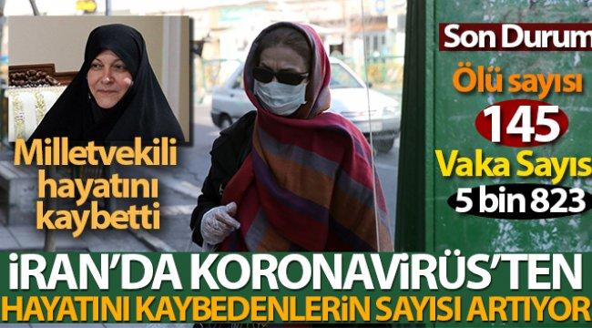 İran'da korona virüsü salgınında ölü sayısı git gide yükseliyor!