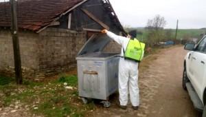 Köyler de her yer Dezenfekte ediliyor