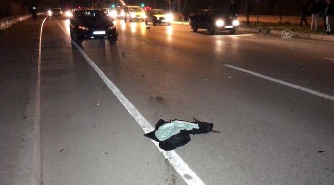 Otomobilin çarptığı yaya hayatını kaybetti!