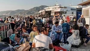 Sığınmacıların kaldığı otel karantinada