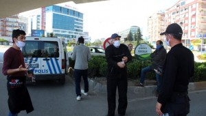 Yasağı delen vatandaşlar Polise Zor anlar yaşattı