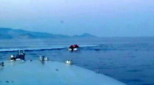 Yunan Sahil Güvenlik tarafından geri itilen 6 sığınmacı kurtarıldı