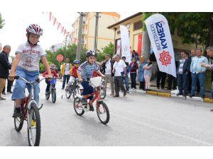'Koşabiliyorken Koş Projesi'nde Bisikletle Yarıştılar