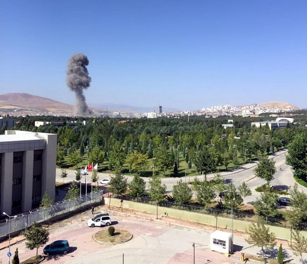 Elazığ Emniyet Müdürlüğü'ne Bombalı Araçlara Saldırı: 3 Şehit 120 Yaralı