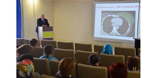 Prof. Dr. Hedef Özgün, 'Meme Kanseri Farkındalık' toplantısında hastalıkla ilgili önemli uyarılarda bulundu