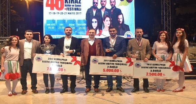 46'ıncı Altın Kiraz Kültür ve Sanat Festivali sona erdi