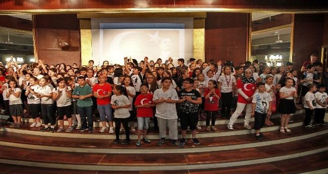 8-13 yaş aralığındaki 250 çocuk, birbirinden ilginç projeyle göz doldurdu