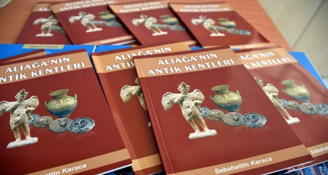 Aliağa'nın Antik Kentleri' kitapçığı ve 'Güzelhisar' kitabının dağıtımı başladı