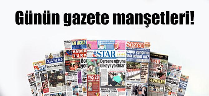 Gazete Manşetleri Oku - 22.Mayıs 2016 Gazeteler