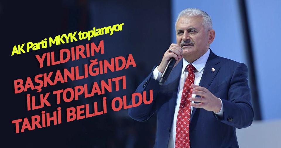 AK Parti Binali Yıldırım'la MKYK'yı Yarın Topluyor
